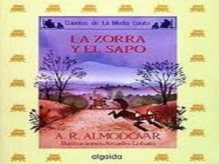 Biografía de Almodóvar              Nació en 1941 es               autor de más de 30               libros, entre ellos  ...