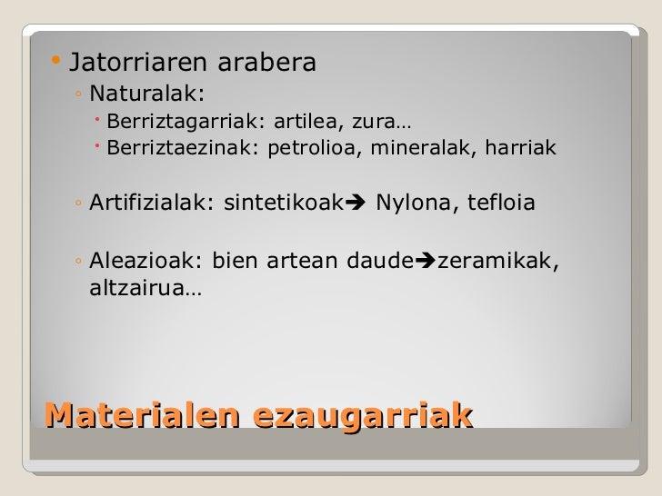 Materialak Slide 3