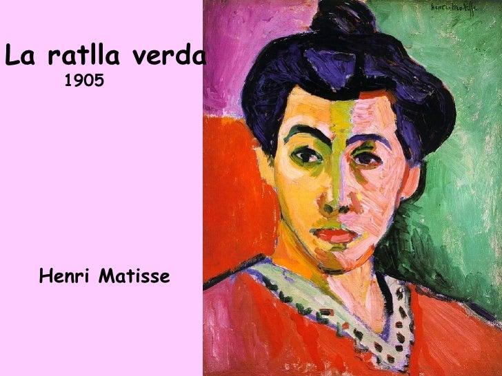 La ratlla verda     1905       Henri Matisse