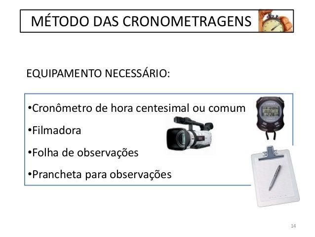 EQUIPAMENTO NECESSÁRIO: •Cronômetro de hora centesimal ou comum •Filmadora •Folha de observações •Prancheta para observaçõ...