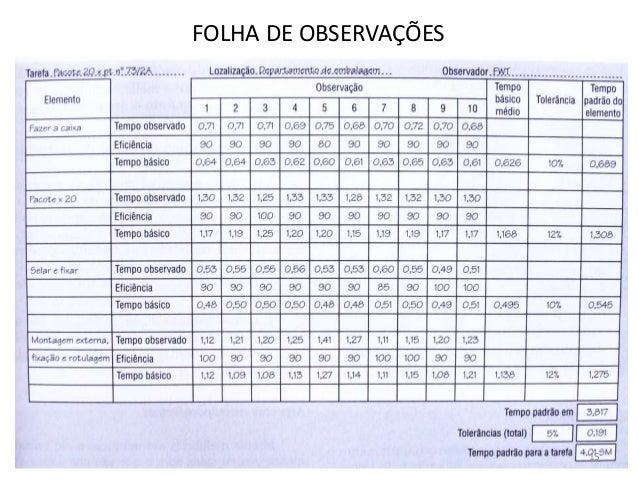 FOLHA DE OBSERVAÇÕES 15