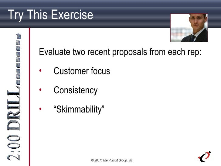 2 Minute Drill: Best Practices for Sales Proposals