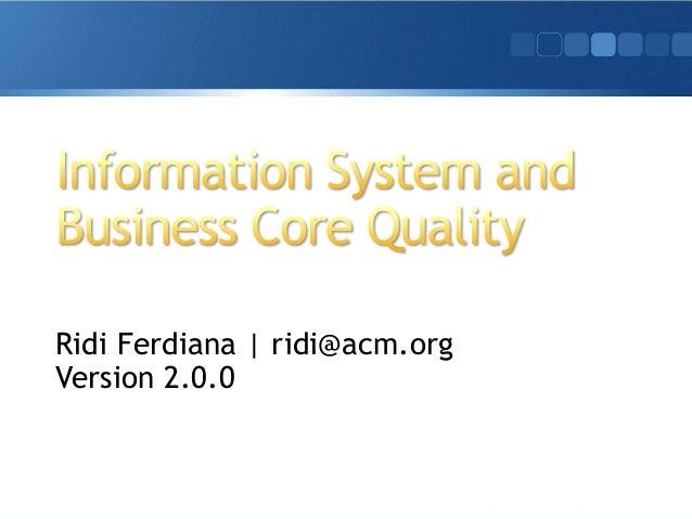 Ridi Ferdiana | ridi@acm.org Version 2.0.0