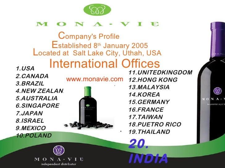 Companys Profile         Established 8th January 2005    Located at   Salt Lake City, Uthah, USA1.USA   International Offi...