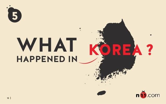 13 WHAT HAPPENED IN KOREA 5 ?