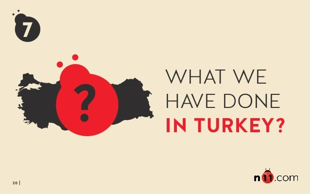 20 7 WHAT WE HAVE DONE IN TURKEY?