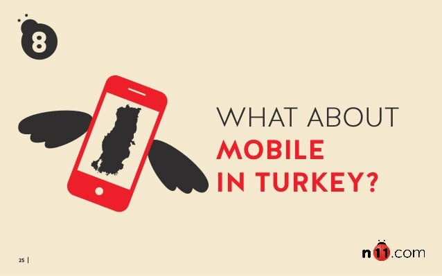 25 WHAT ABOUT MOBILE IN TURKEY?