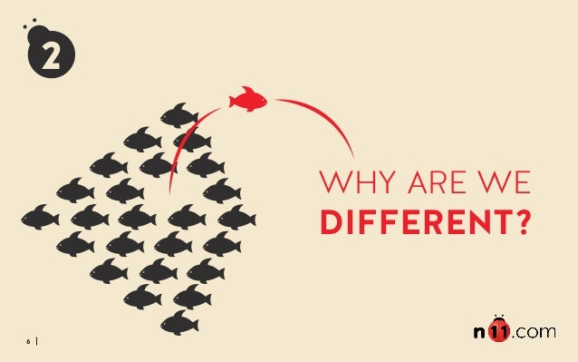 6 WHY ARE WE DIFFERENT? 2