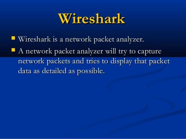 snort and wireshark essay Wireshark reads packets and decodes them in human readable format for you to inspect whatever it is that happens in those packets snort is a intrusion detection systems, which scans for malicious (or other) patterns in packets it sees, kind of like a virus scanner, and alerts if it sees something.