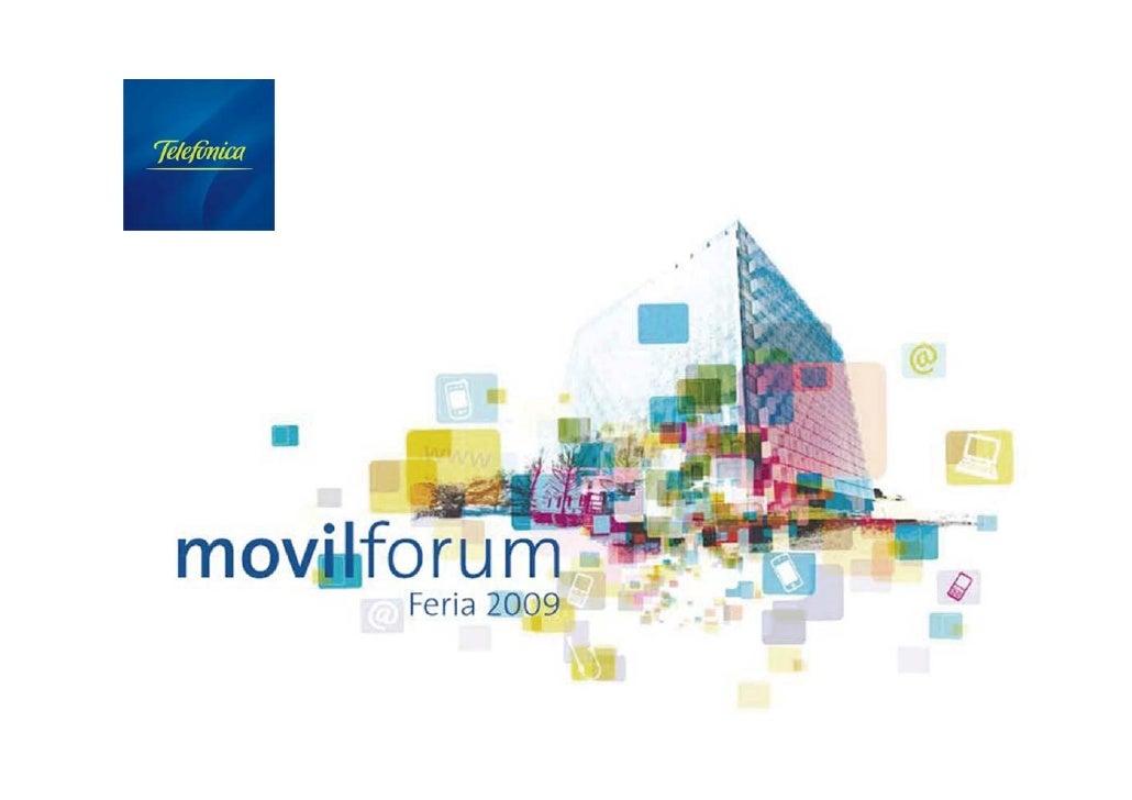 Carlos Sánchez Fueyo Responsable Open Movilforum                Open Movilforum