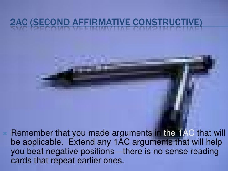 draft constructive speeches with affirmative and negative sides The step by step guide to debate  two teams, one affirmative, one negative, each with two or three people  • constructive speeches.