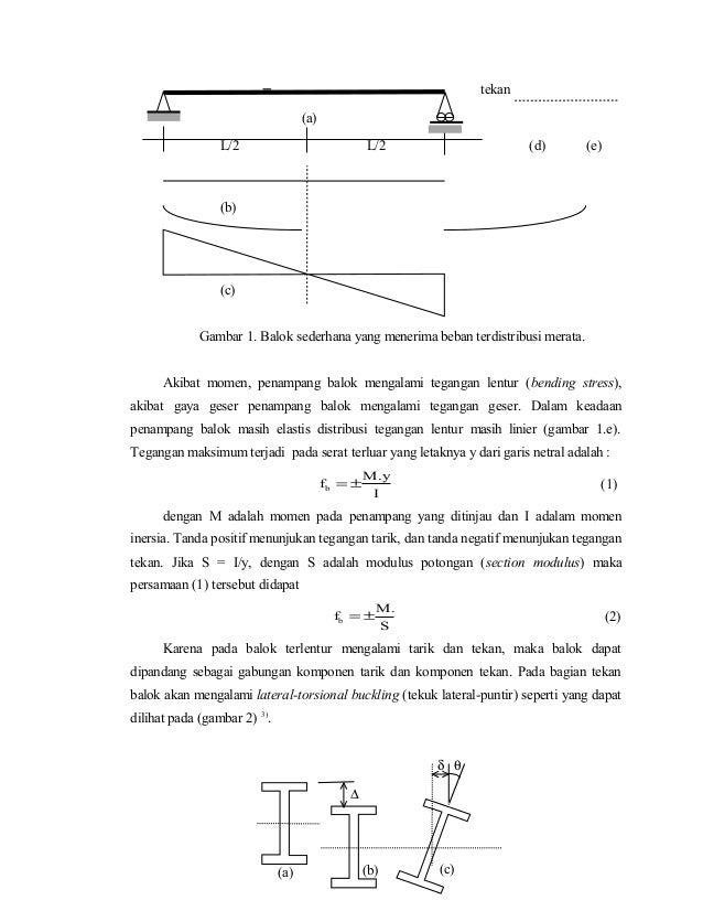 2 perilaku komponen struktur lentur profil i ccuart Gallery