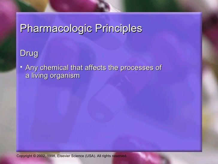 Pharmacologic principles Slide 2