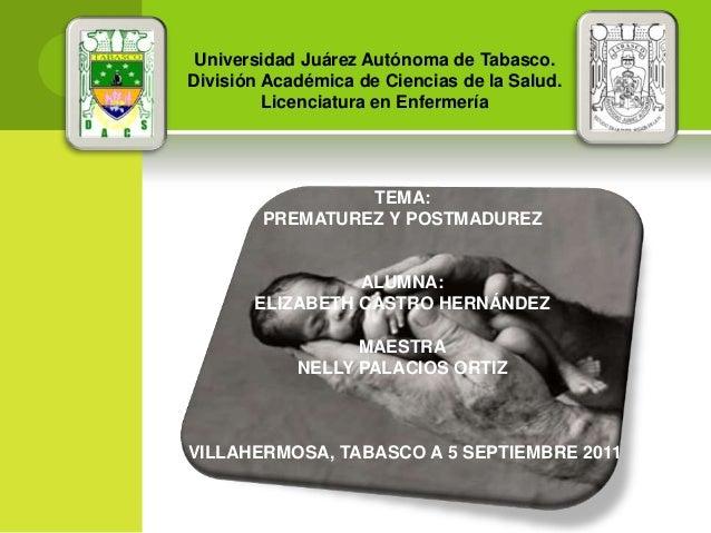 Universidad Juárez Autónoma de Tabasco.División Académica de Ciencias de la Salud.         Licenciatura en Enfermería     ...