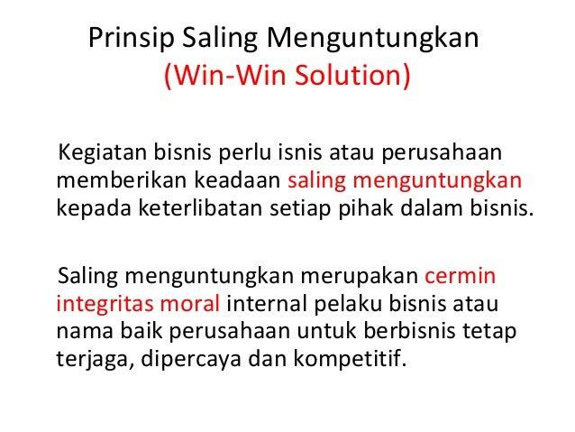 2 Prinsip Etika Bisnis