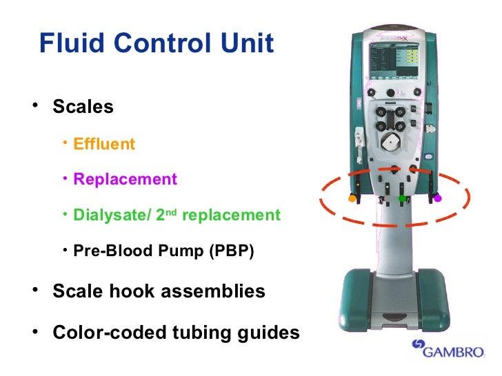 gambro dialysis machine training guide