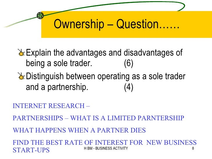 THE DISADVANTAGES AND ADVANTAGES OF BEING A SOLE TRADER - News AKMI