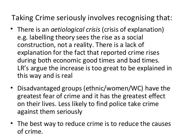 marxists explanation of crime Let's look at how we might evaluate the various functionalist explanations of crime  evaluating functionalist explanations of crime  marxists in particular .