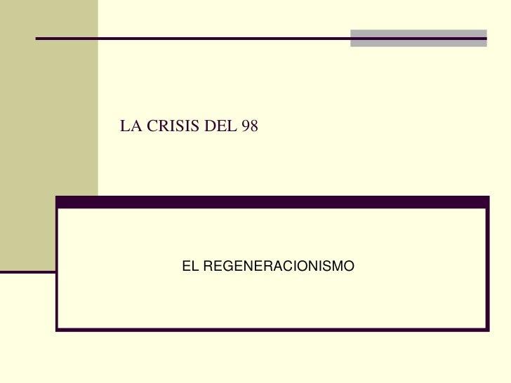 2.regeneracionismo
