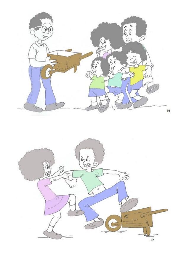 Atividade 02: Distribuir para cada criança o desenho de um coração e pedir que cole nele as figuras que mais os agradam pa...