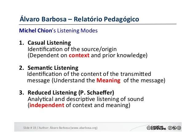 Slide  #  19  /  Author:  Álvaro  Barbosa  (www.abarbosa.org)   Álvaro  Barbosa  –  Relatório  Ped...