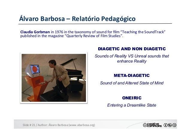 Slide  #  21  /  Author:  Álvaro  Barbosa  (www.abarbosa.org)   Álvaro  Barbosa  –  Relatório  Ped...