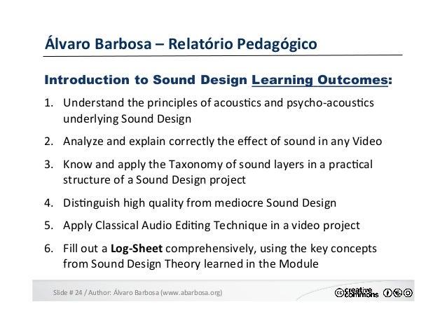 Slide  #  24  /  Author:  Álvaro  Barbosa  (www.abarbosa.org)   Álvaro  Barbosa  –  Relatório  Ped...