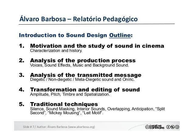 Slide  #  7  /  Author:  Álvaro  Barbosa  (www.abarbosa.org)   Álvaro  Barbosa  –  Relatório  Peda...