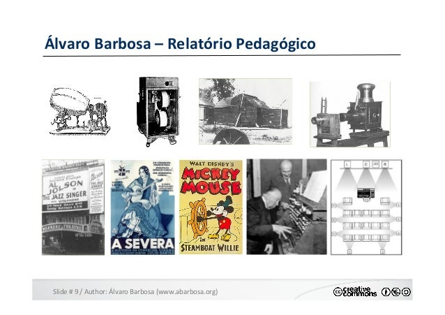 Slide  #  9  /  Author:  Álvaro  Barbosa  (www.abarbosa.org)   Álvaro  Barbosa  –  Relatório  Peda...