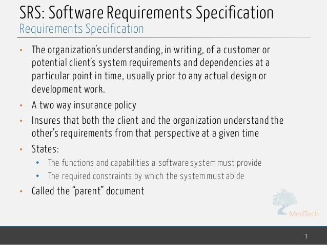 Software Engineering - chp2- requirements specification Slide 3