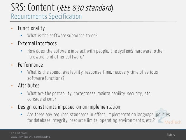 Software Engineering Chp2 Requirements Specification