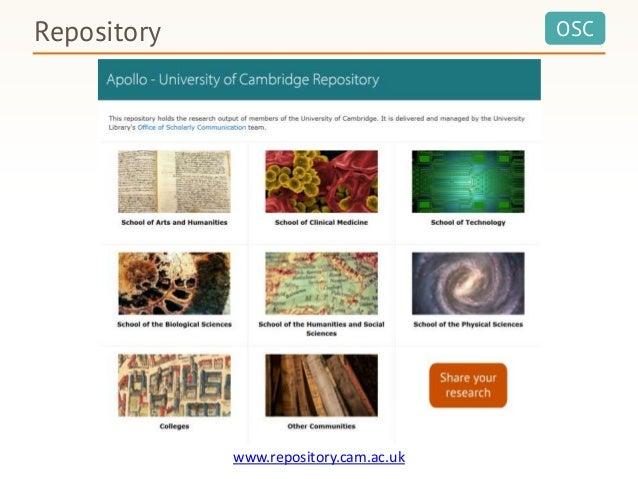 OSC www.repository.cam.ac.uk Repository