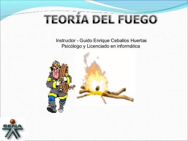 Instructor - Guido Enrique Ceballos Huertas Psicólogo y Licenciado en informática