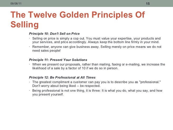 principles of personal selling Principles of marketing - personal selling & sales promotion - free download as powerpoint presentation (ppt), pdf file (pdf), text file (txt) or view presentation slides online.