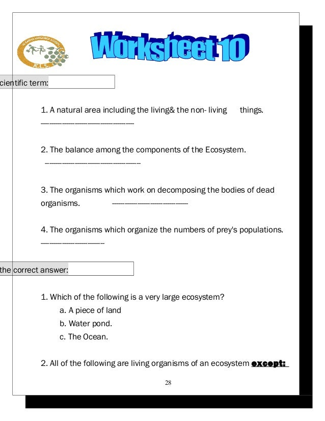 Worksheets For Grade 1 In Science : 2 science worksheets p5 2015