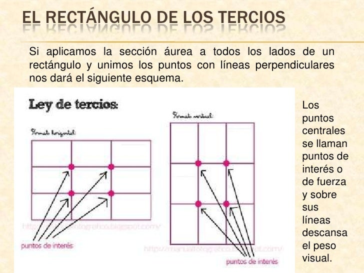 EL RECTÁNGULO DE LOS TERCIOS<br />Si aplicamos la sección áurea a todos los lados de un rectángulo y unimos los puntos con...
