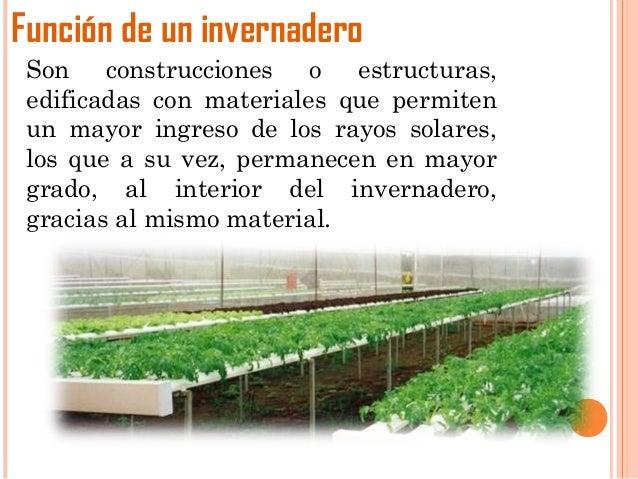Sensores en el invernadero for Materiales para un vivero