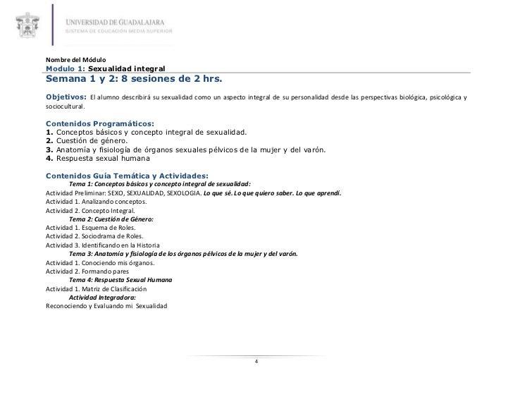 2. sexualidad humana plan de clase 2012