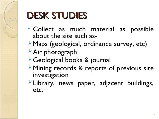 site investigation essay Genre and the research paper research: what it is a research paper is the culmination and final product of an involved process of research, critical thinking, source evaluation, organization, and composition.