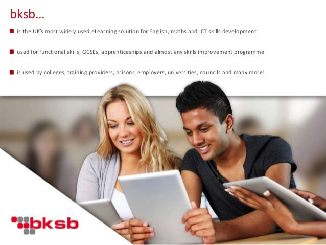 is the UK's most widely used eLearning solution for English, maths and ICT skills development used for functional skills, ...