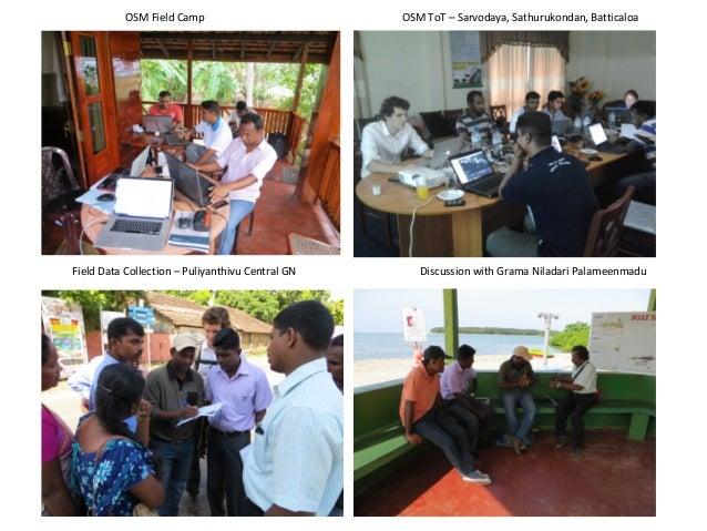 Srimal Samansiri, Assistant Director, R&D at Disaster Management Centre, Ministry of Disaster Management, Sri Lanka   SotM Asia 2017 Slide 3