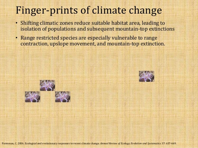 Desert refugia under a changing climate : special and temporal patter… - 웹