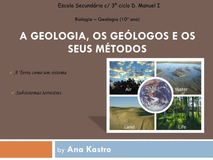 Subsistemas Terrestres - apresentação em PPT