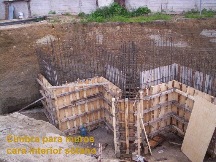 2 templo nsrp fotos obra ago2006 for Muro de concreto armado