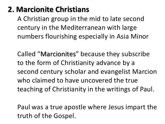 Image result for Marcionites