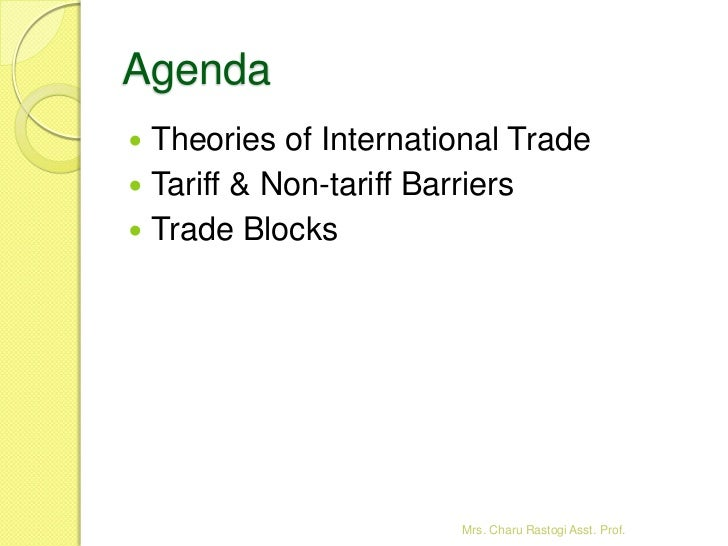 tariff and nontariff barriers used in global financing Tariffs brazil is a member of nontariff barriers brazil applies federal and state taxes and these programs can be used for financing capacity.