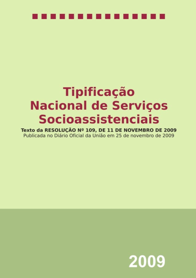 1 livro Tipificação Nacional.indd 1 19/1/2010 15:30:48