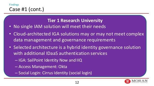6/25 IDaaS in Higher Ed: Is the Cloud Ready?   Identiverse 2018