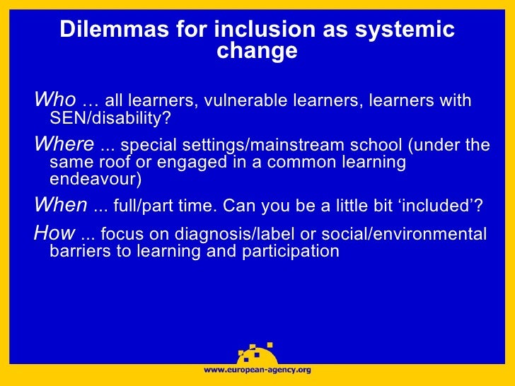 Principles policies frameworks of inclusive schooling essay