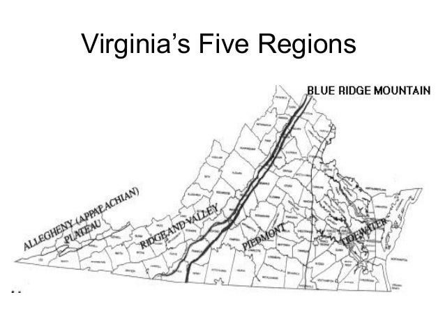 2 virginias geography